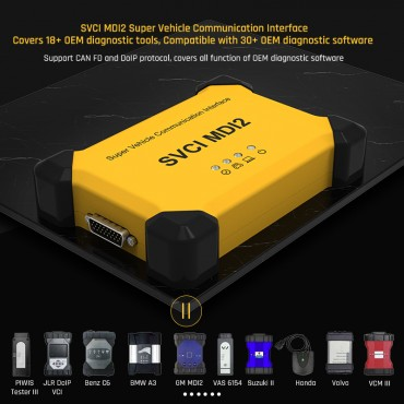 All in one, SVCI MDI2 super vehicle communication Interface, Best auto OEM diagnostic tools, Covering 95% models in Europe, America and Japan