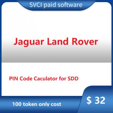 Jaguar Land Rover PIN Code Calculator